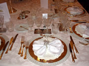 Chateau Rousseau de Sipian table d'hote